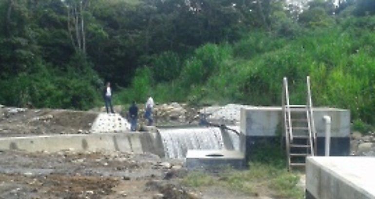 Avanza construcción de sistema de riego de Río Sereno